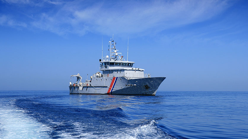 government sea vessel
